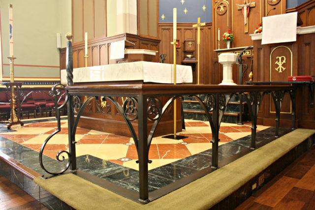 Interior Church Railings