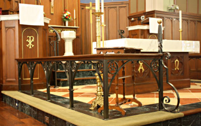 Wrought Iron Alter Railing for Trinity Lutheran Church