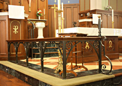 Church Altar Railings