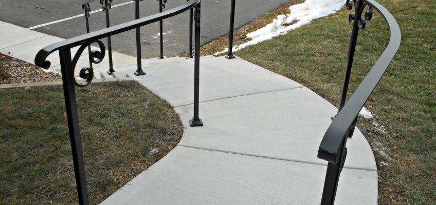 metal exterior railings