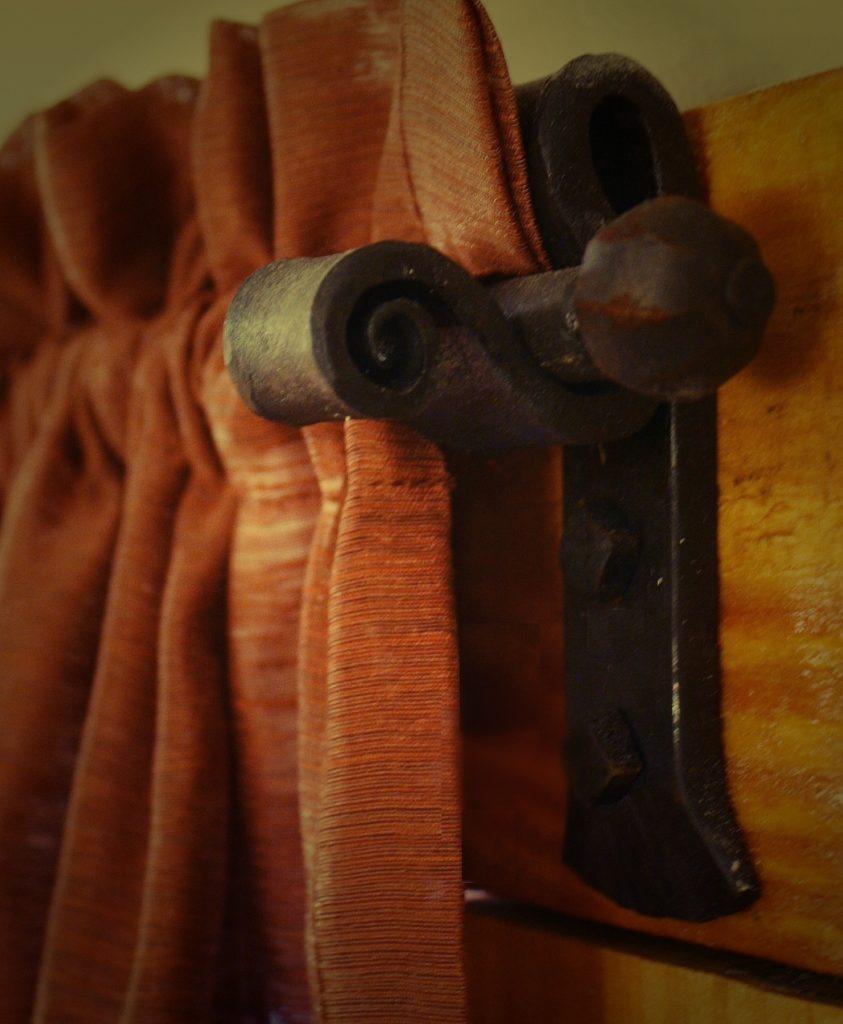 Custom Curtain Rod and Bracket