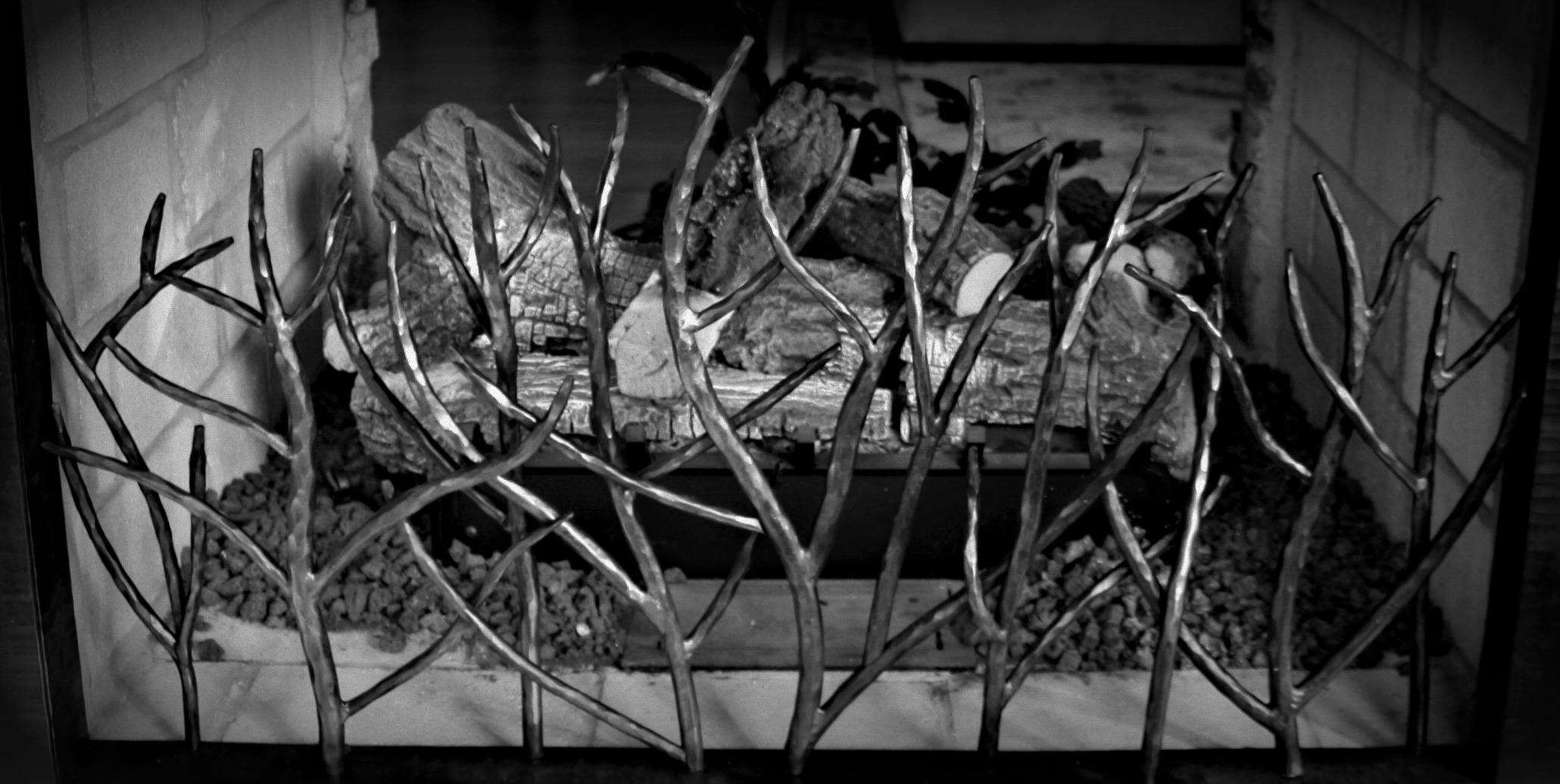 custom branch fireplace screen hagerstown maryland antietam