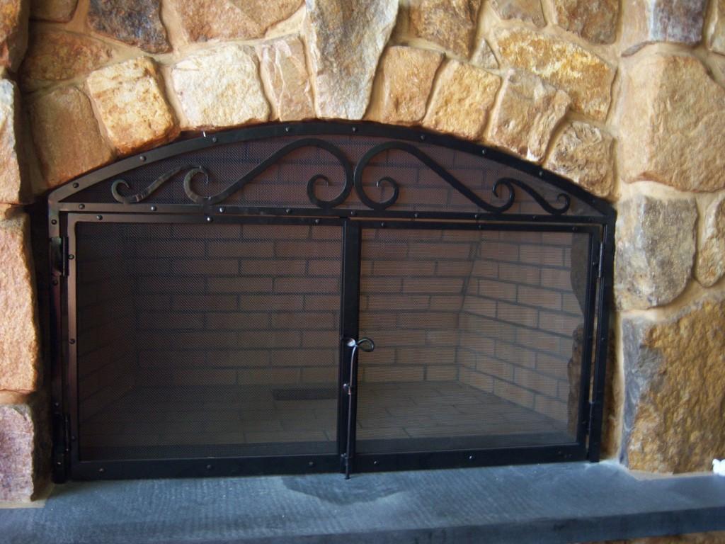 Custom Fireplace Doors Antietam Iron Works