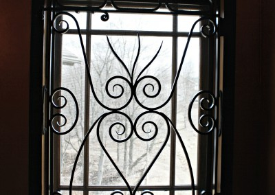 Custom Iron Window Guard