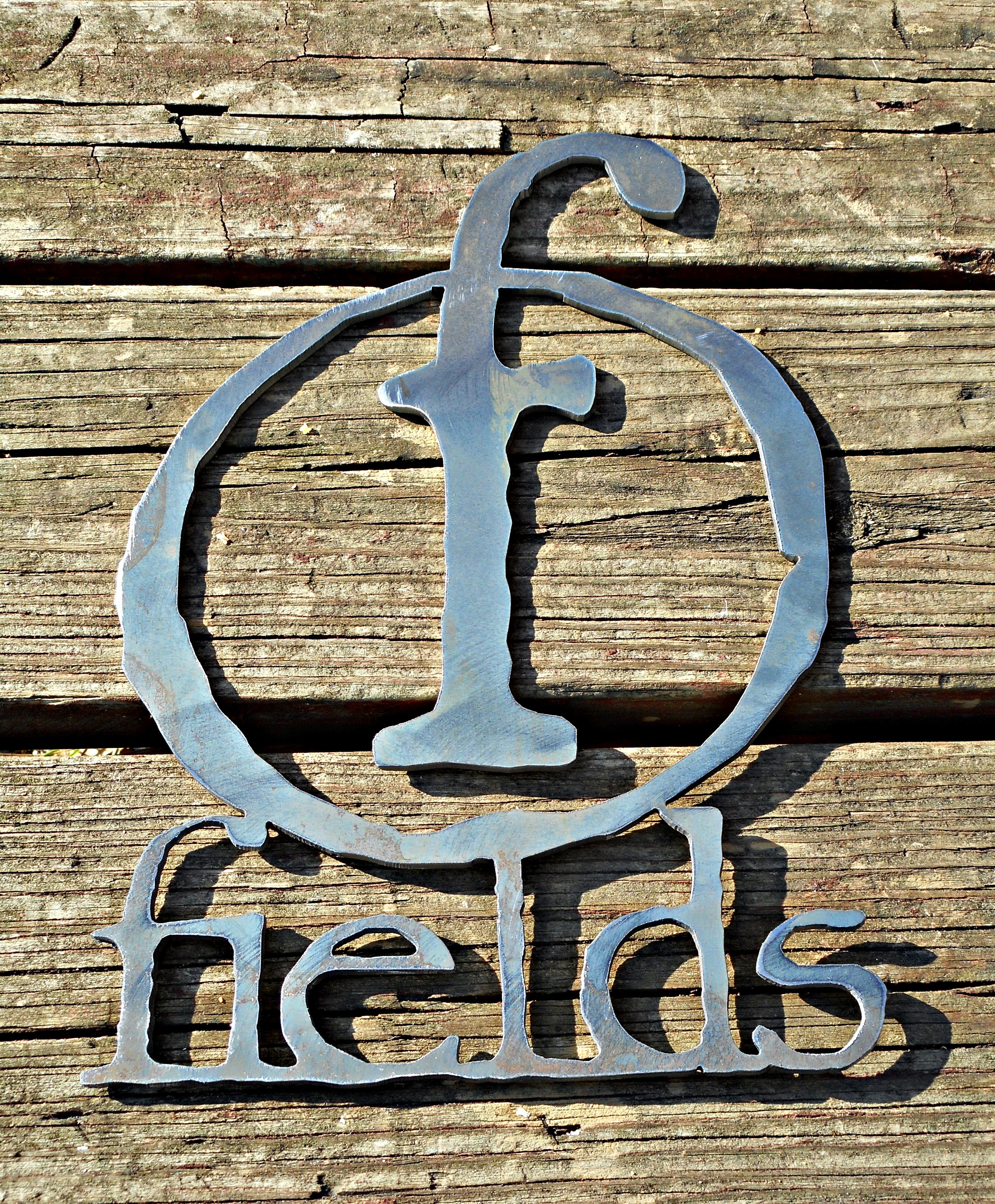 Unique Metal Signs- Surname Projects - Antietam Iron Works