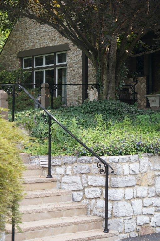 Wrought Iron Railing Design Ideas for a Tudor Home ...