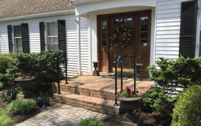 Railing for Small Steps or Walkways- Safety without compromising style