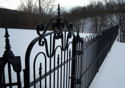 Hairpin Gate Post & Fence