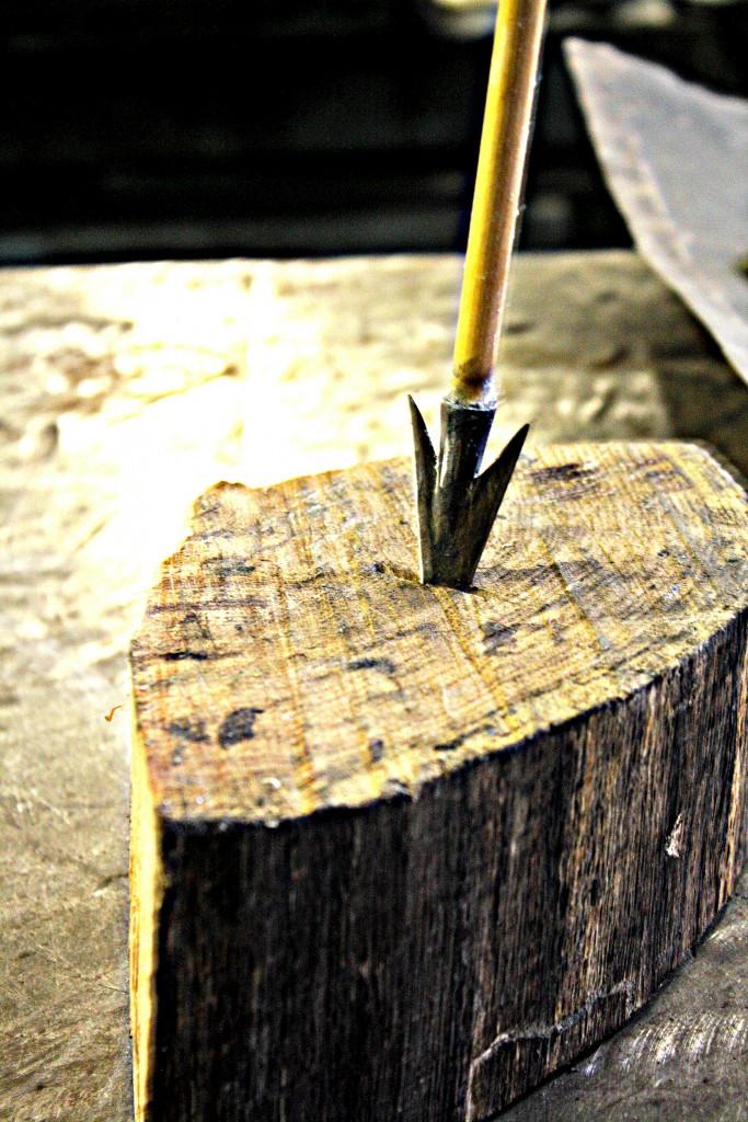 Hand Forged Arrow Head