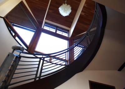 MODERN spiral railing