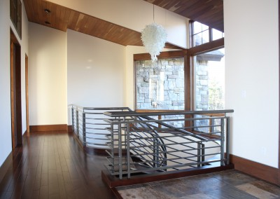 Modern Iron Stair Railing