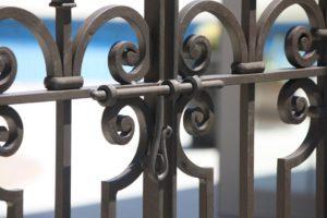 Iron Gate latch round pool
