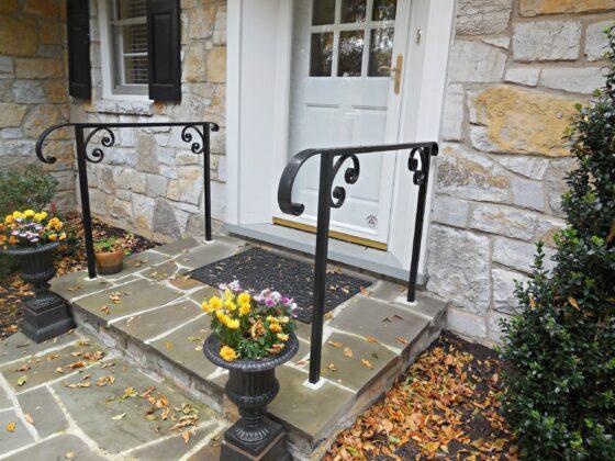 Railing for Porch Steps
