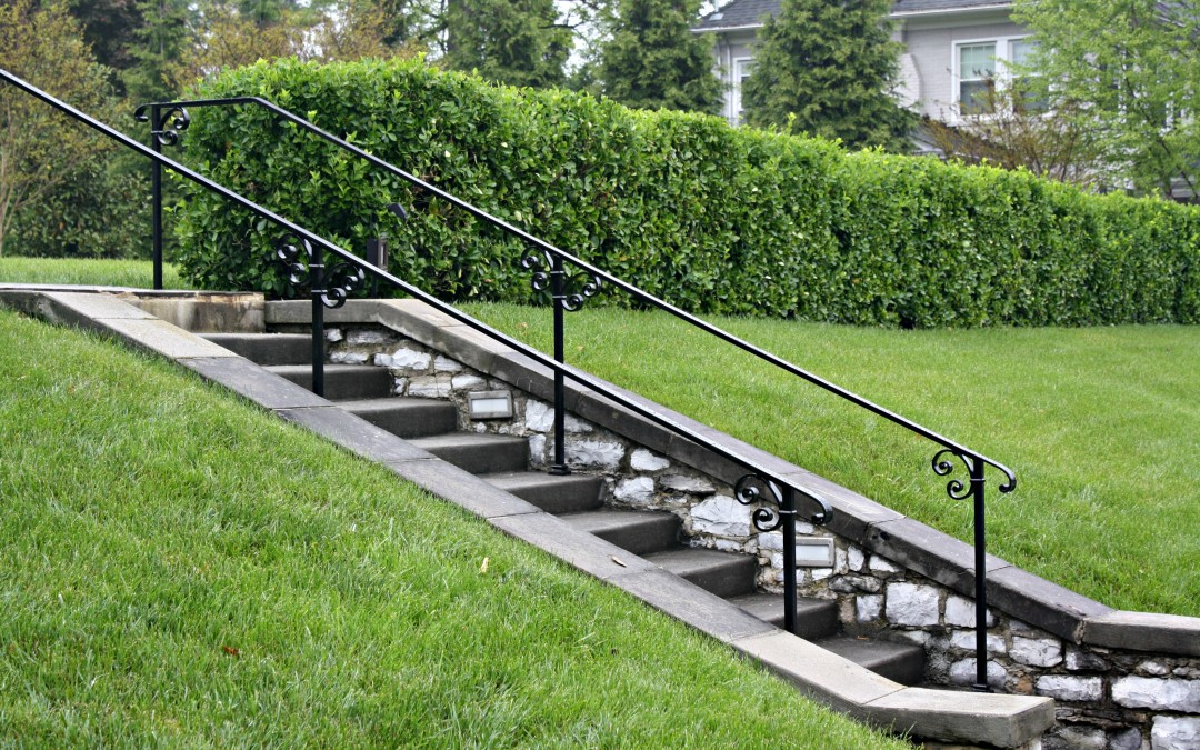 Railings for an Historical Home in Hagerstown, Maryland- Wrought Iron