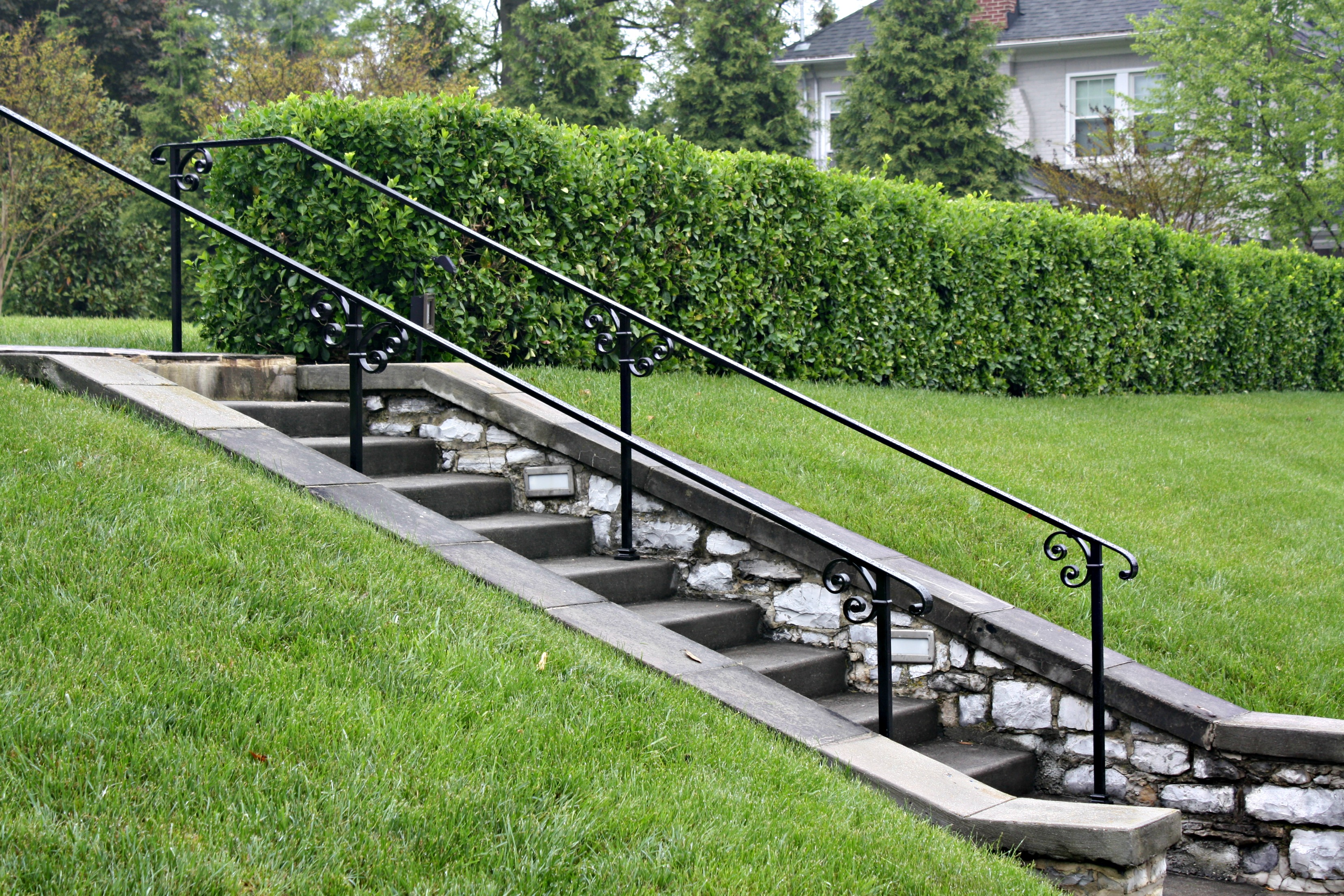 Railings For An Historical Home In Hagerstown Maryland