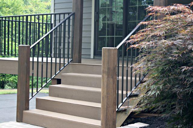 porch step railings