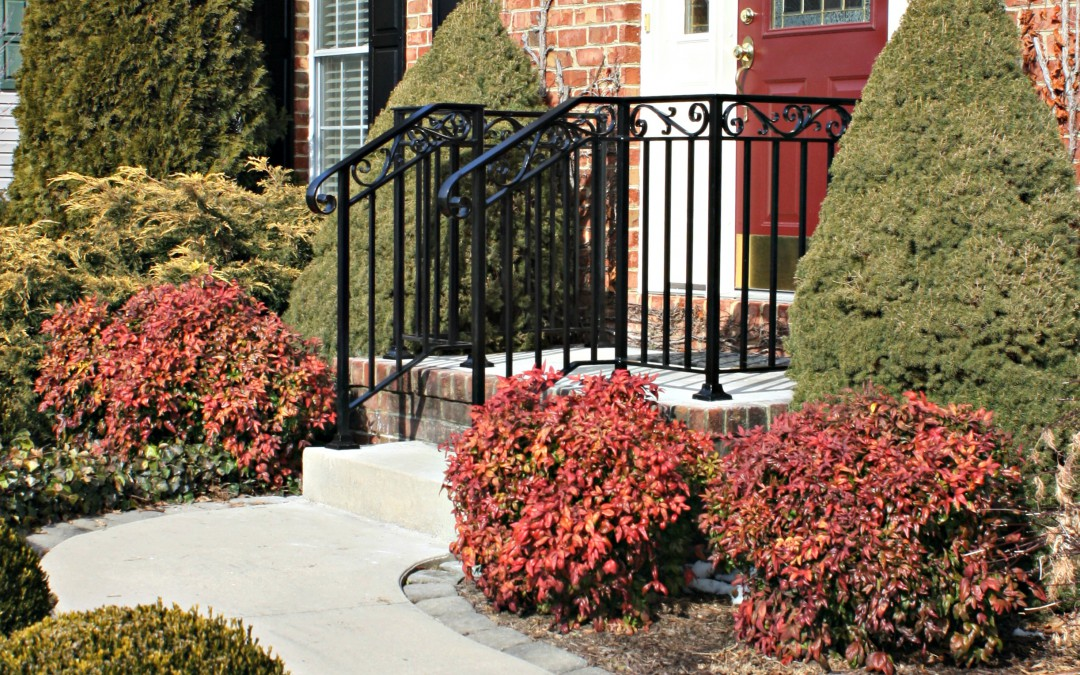 Improve the Look and Safety of your Front Step Railings