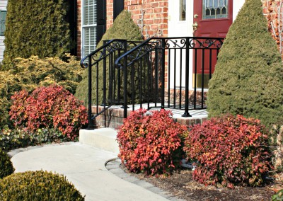 Railings front Walkway Waynesboro, PA