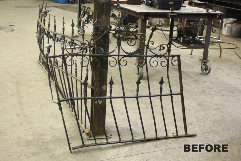 Wrought Iron Victorian Garden Gate Amp Picket Fence