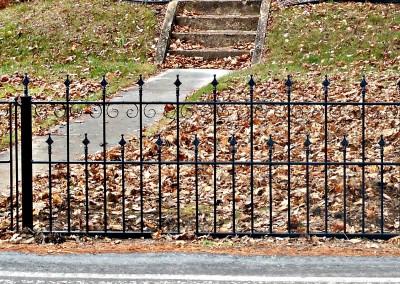 Restored Victorian Fence and Garden Gate