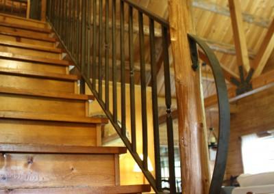 Rustic Cabin Railing