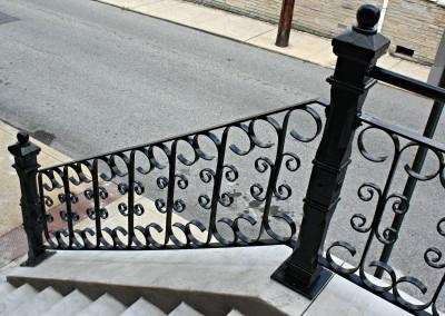 Step Railing Restoration