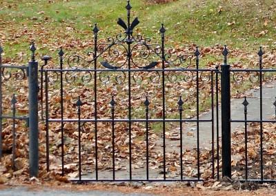 Victorian Garden Gate Restoration