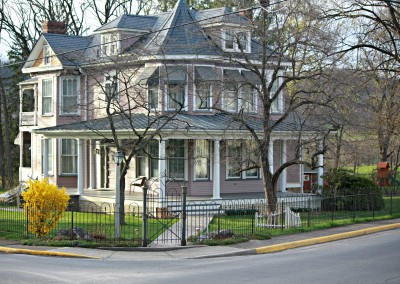 Victorian Home with Hairpin fence