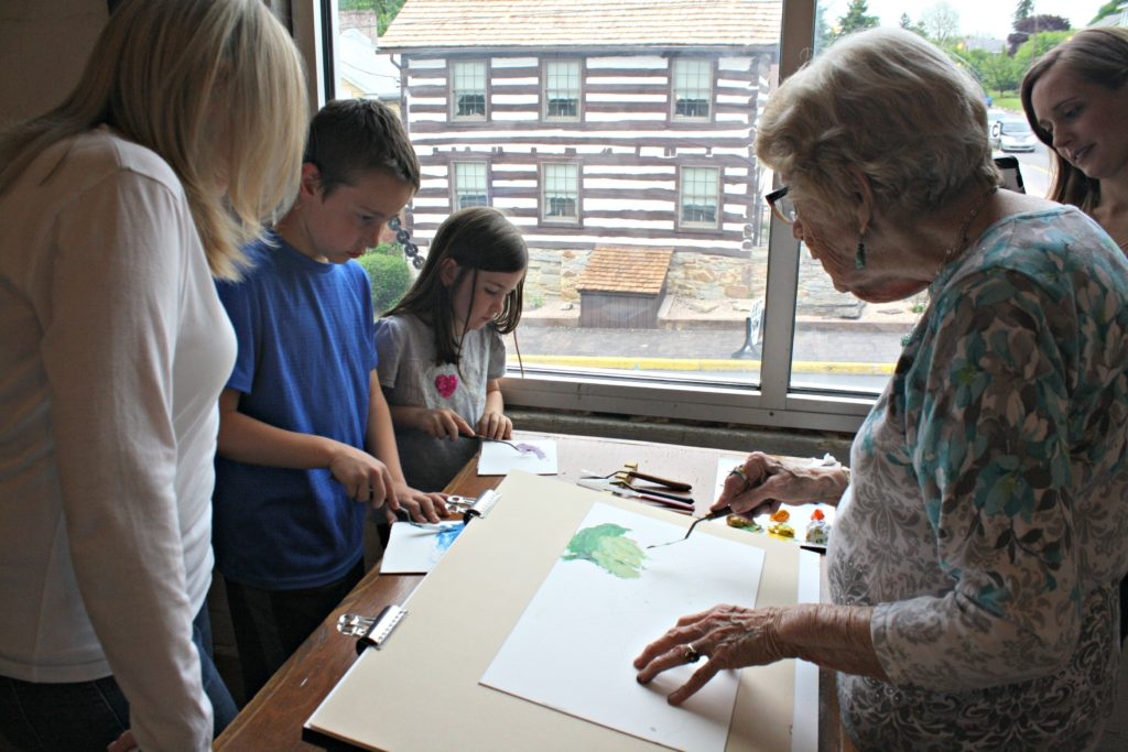 Water Color Demonstrations
