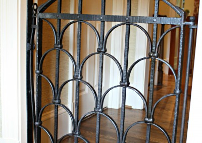Wrought Iron Dog Gate