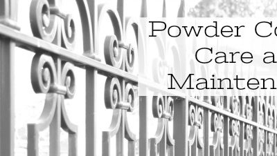 Powder Coating Care and Maintenance for Fences, Railings, and Gates