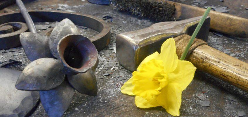 Forged daffodil