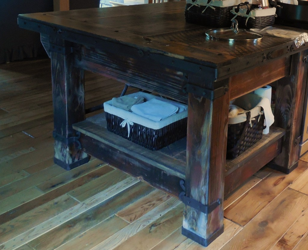 Wrought-Iron-Hardware-Kitchen-Island - Antietam Iron Works