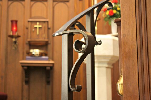 Pulpit Step Railings