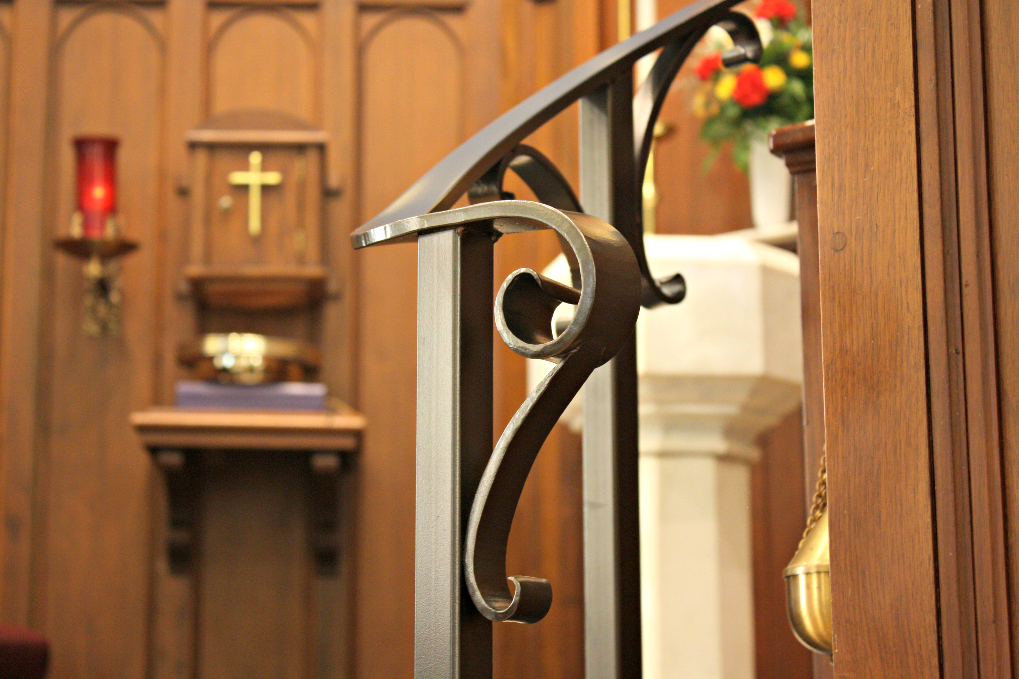 Pulpit Step Railings