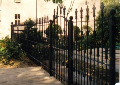 Restoration of Iron Fence