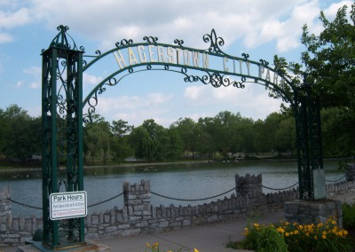 Iron Arch restored