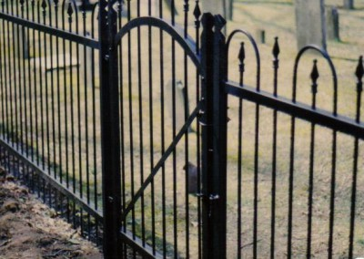 Hairpin fence restoration