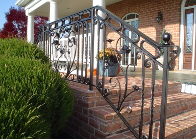 French Iron Railing