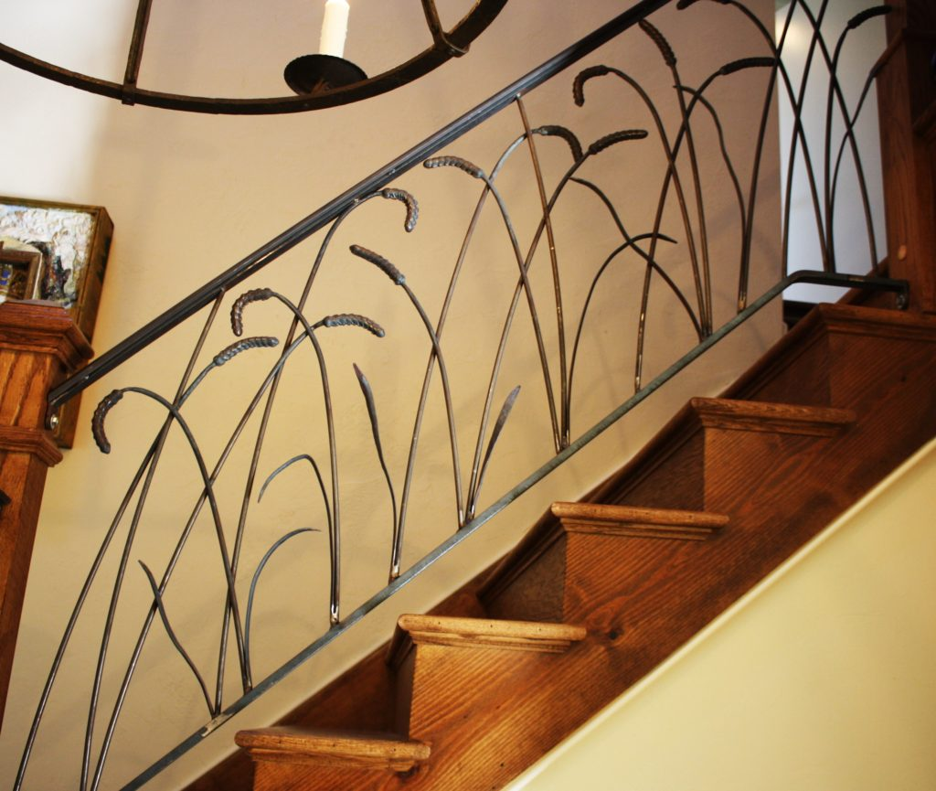 Organic Iron Railings A Tribute To Nature In Metal